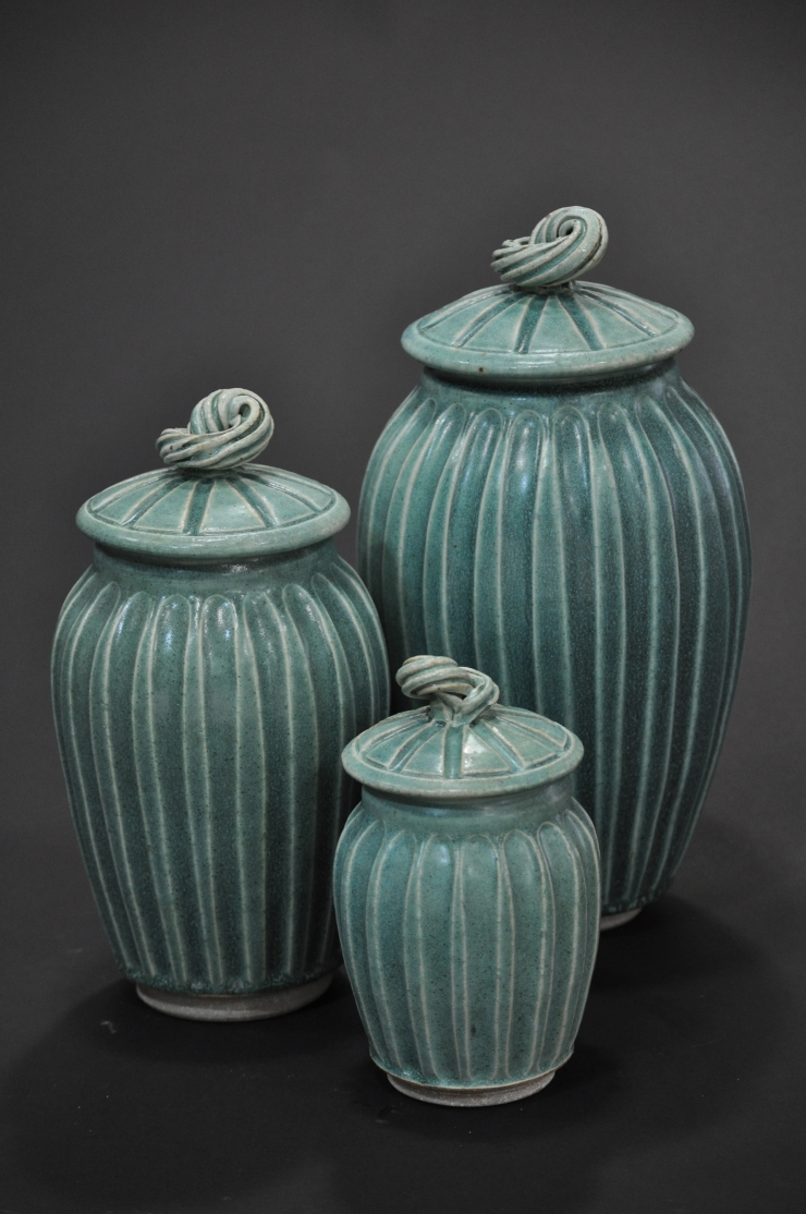 Covered Jars-