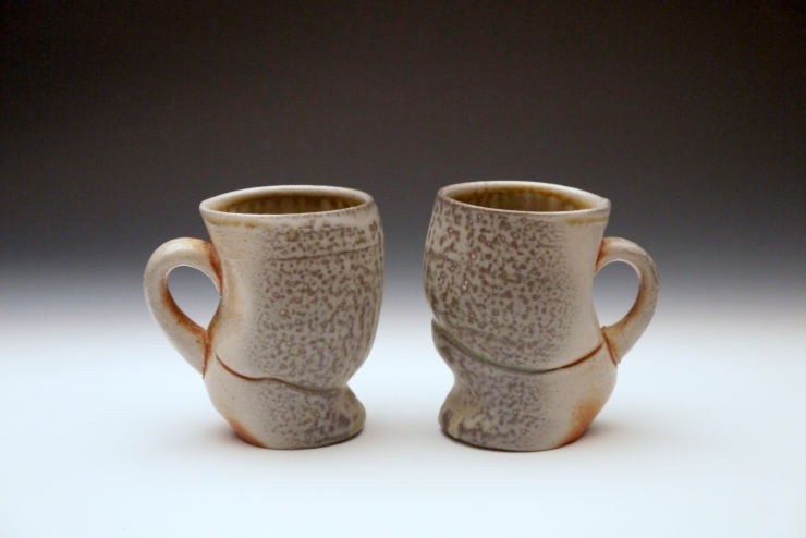 Soda-fired Mugs