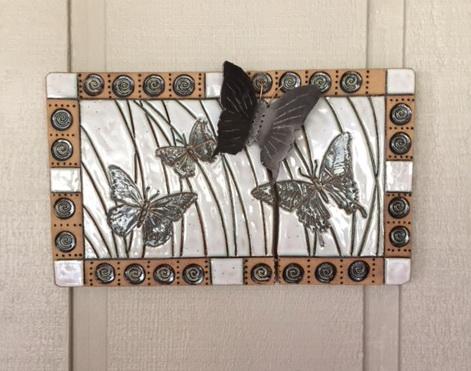 Kronenberg Butterflies Ceramic & Steel