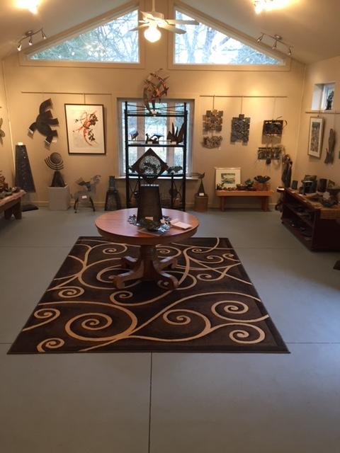 Kronenberg WeldedCreationsPlus Gallery Inside