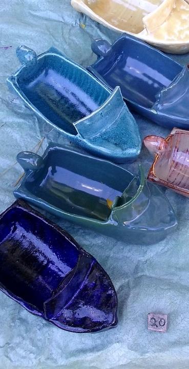 Mark Dehetre, Ceramic Boats