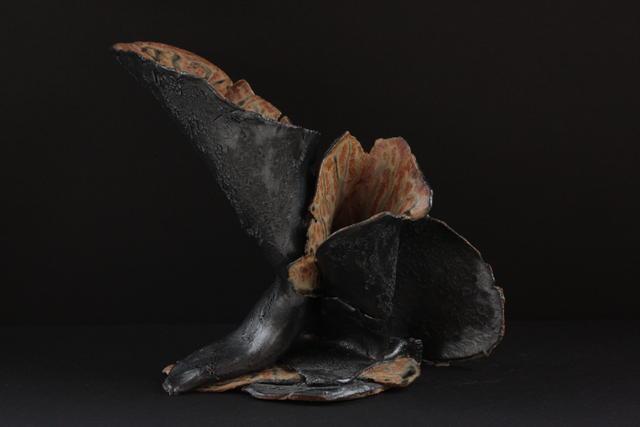 Vujea, vase, 11 x 8 x 10, cone 10 stoneware