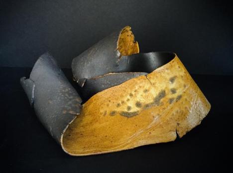 Vujea, vase 5 x 12 x 11, cone 10 stoneware