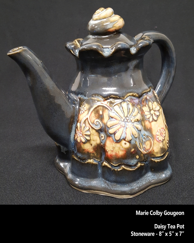 MCG-Daisy Tea Pot