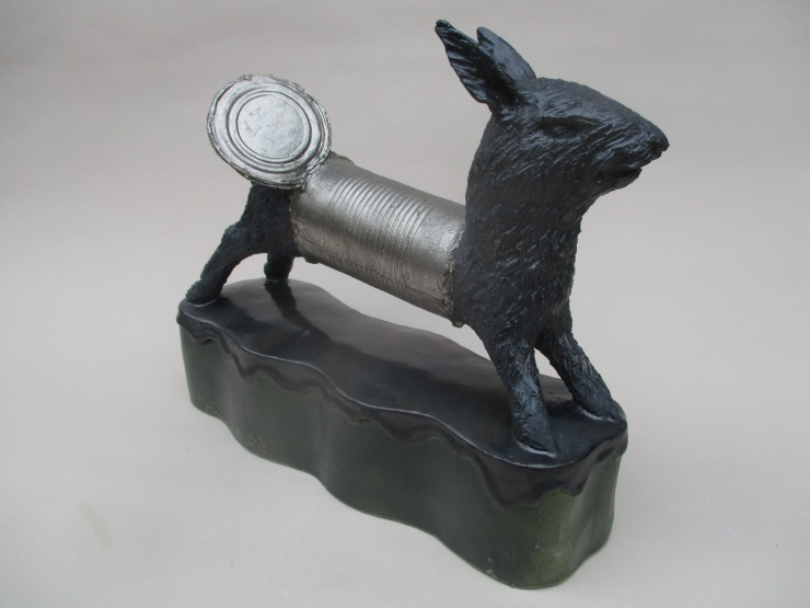 Rabbit with Can