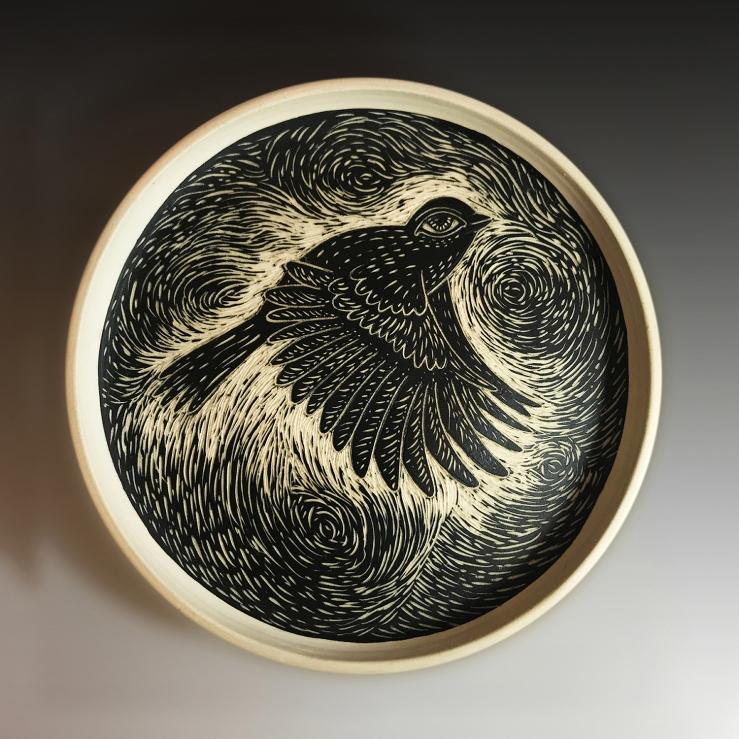 Rosseter-RidingTheCurrents-7.5_Wx1_H-Porcelain-Cone6