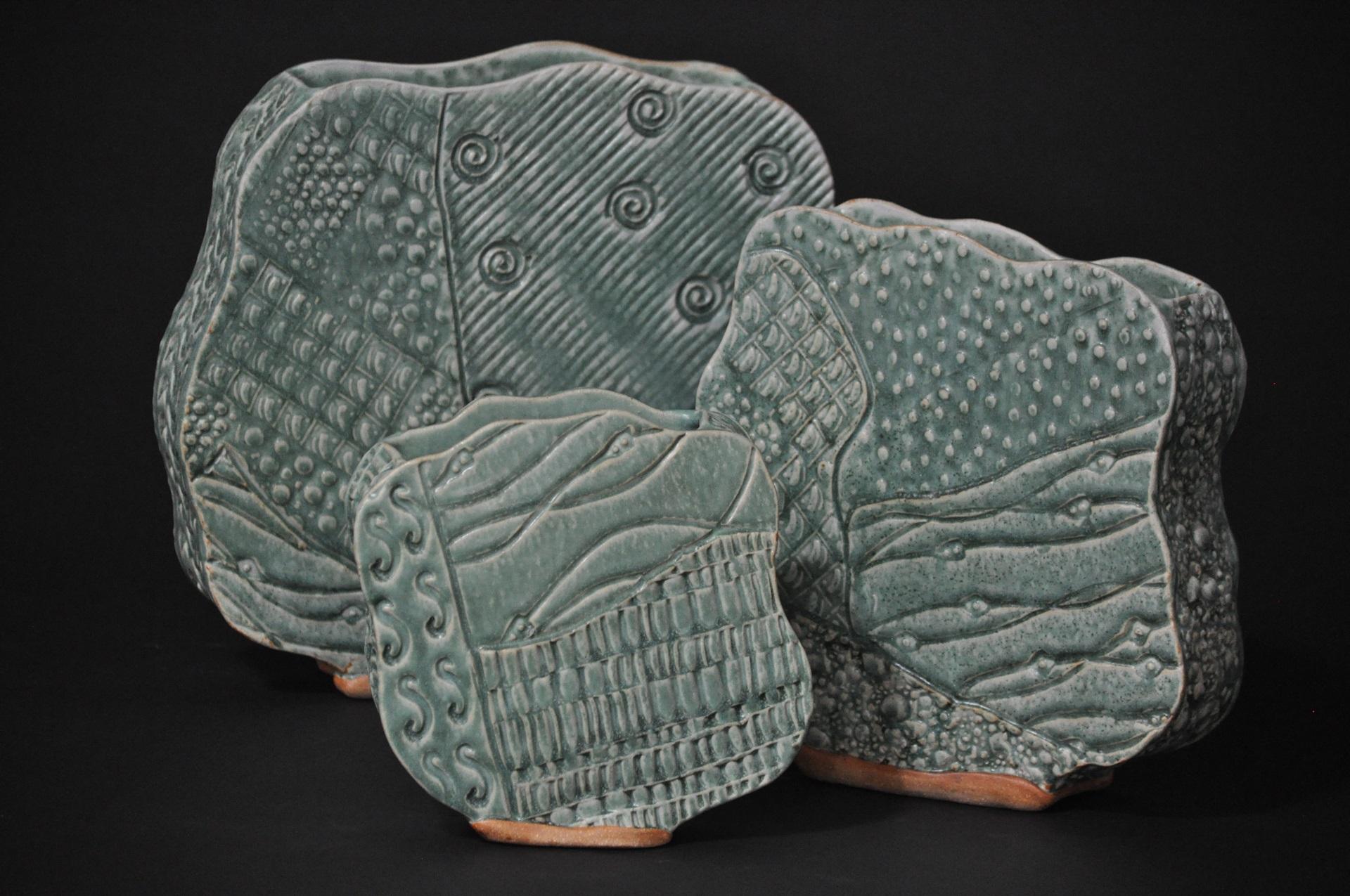 Textured Pots